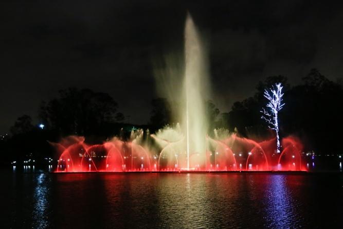 Fonte Elo Ibirapuera tem shows de natal até o dia 6 de janeiro
