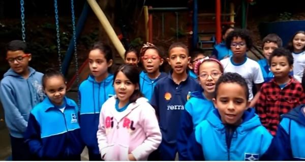 Alunos da EPG Dorcelina apresentam em vídeo mensagens sobre respeito às diferenças