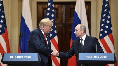Trump e Putin se reúnem na Finlândia