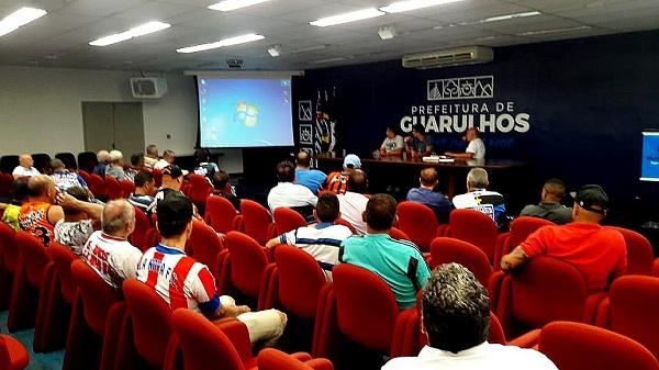 Prefeitura e Barbosa fecham parceria para o Campeonato Municipal de futebol amador de Guarulhos