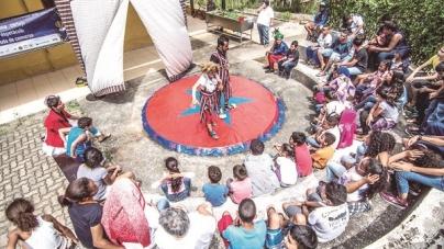 Projeto 'De Olho no Duto' promove um dia de circo em comunidade de Guarulhos