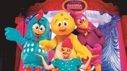 O espetáculo 'Galinha Pintadinha e a Fabulosa Trupe' chega à Guarujá