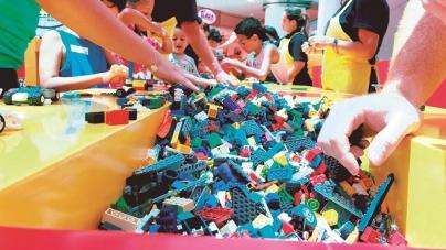 Internacional Shopping recebe espaço Lego durante as férias