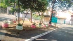 Moradores da Vila São Rafael revitalizam ponto de descarte viciado
