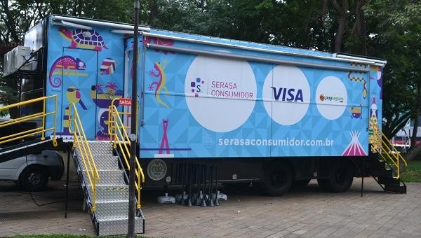 Serasa disponibiliza caminhão itinerante para mais de 480 mil guarulhenses negociarem dívidas