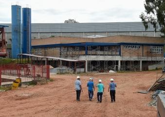 Obras da primeira fase do CEU Bonsucesso entram na reta final