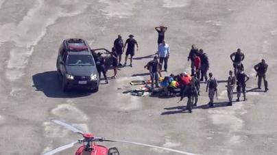 Morre sargento que estava no helicóptero da PM que caiu no RJ