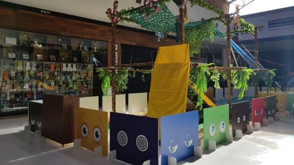 Shopping Bonsucesso apresenta arena com arvorismo, trampolim e oficinas gratuitas