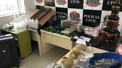 Dise de Guarulhos prende traficante com 13,3 quilos de drogas