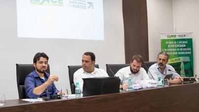 Prefeito Guti faz balanço de governo durante reunião de diretoria na ACE-Guarulhos