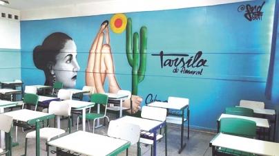 Grafites empolgam e incentivam aprendizado dos alunos