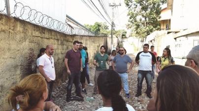 Prefeitura inicia pavimentação da rua Inhaúma, na Vila Barros