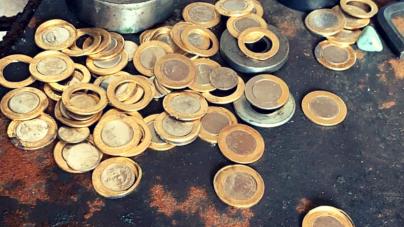 Polícia Civil localiza fábrica de moedas falsas em Mairiporã