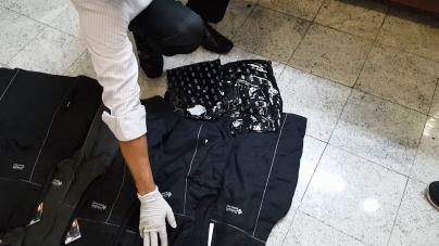 PF prende traficante que costurava coletes sob medida impregnados com drogas