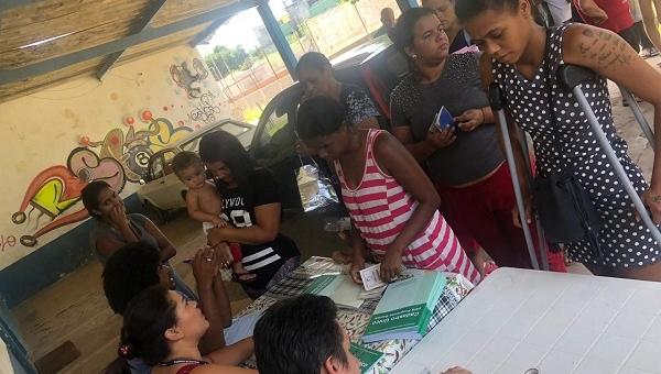 Prefeitura realiza atendimento emergencial no Jardim Guaracy