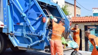 Bairros terão alteração no horário da coleta de lixo domiciliar a partir da próxima segunda-feira