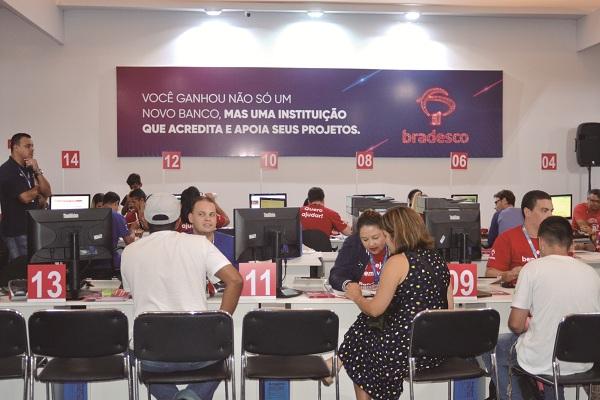 Servidores com nomes iniciados de M até U devem formalizar contas no Bradesco até a próxima semana