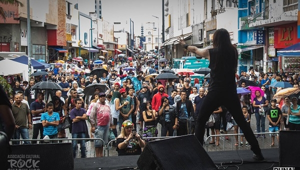 'CarnaRock 2019' acontece hoje no Calçadão da rua Dom Pedro II