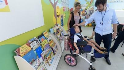 Escolas oferecem atendimento educacional especializado a alunos com deficiência