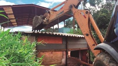 Prefeitura remove barraco, com drogas, na Cidade Soberana