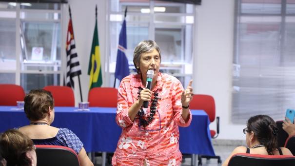Educação promove palestra sobre violência nas escolas para gestores da prefeitura