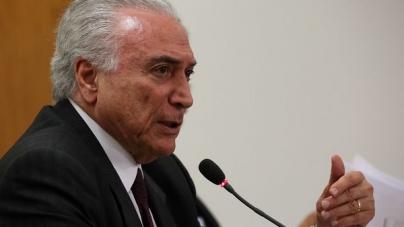 Desembargador manda soltar ex-presidente Michel Temer