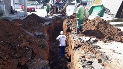 Prefeitura reforma sistema de drenagem no Bonsucesso