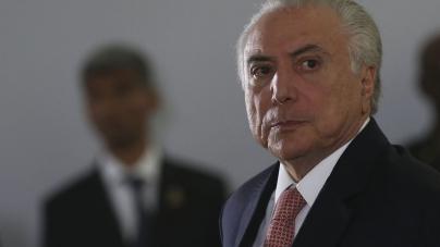 'Não há irregularidade por parte de Michel Temer e Moreira Franco', diz MDB