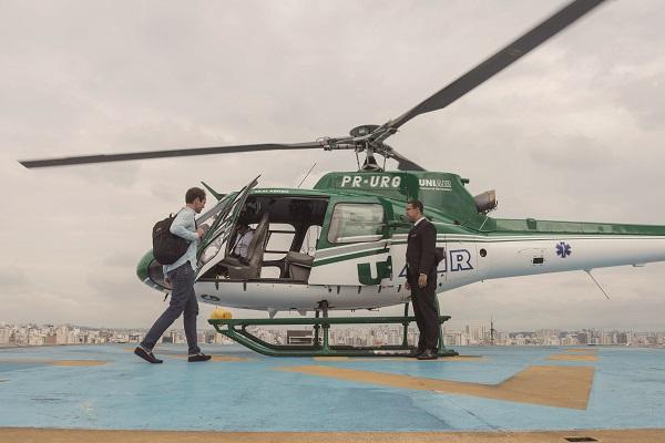Rota até o Aeroporto de Guarulhos é a mais popular em plataforma de voo de helicóptero