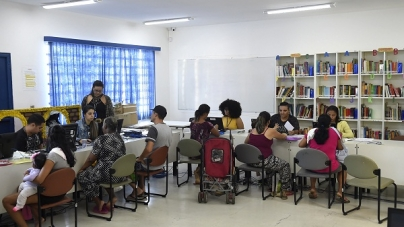 Mutirão do CadÚnico/Bolsa Família no CEU Bambi atende 257 famílias