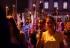 Procissão do Fogaréu emociona fiéis na noite de quinta-feira Santa