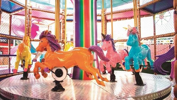 Shopping Maia recebe Parque dos Unicórnios para as crianças