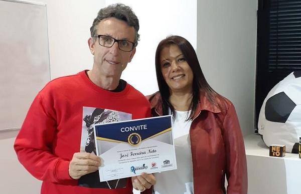 Craque Neto é o embaixador oficial da Campanha do Agasalho de Guarulhos 2019