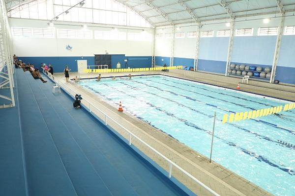 Inscrições para aulas de natação no  Complexo Esportivo João do Pulo terminam amanhã