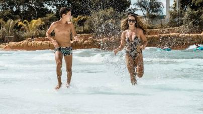 Feriadão à vista onde a água é quente: Parque aquático de Olímpia