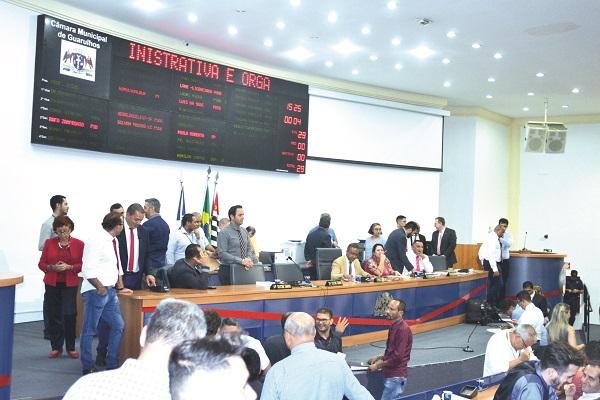 Câmara adia votação do Plano Diretor