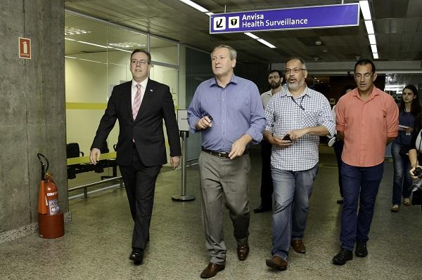 CEI da GRU Airport realiza diligência em posto da Anvisa