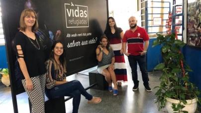 Escola estadual de Guarulhos sedia exposição sobre mulheres refugiadas