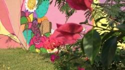Condomínio recebe grafite autoral para embelezar área comum