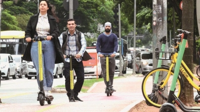 Prefeitura de SP vai impor regras para uso de patinetes elétricos