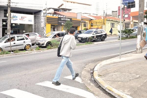 Contrariando tendência estadual, pedestres são os que mais morrem em acidentes na cidade