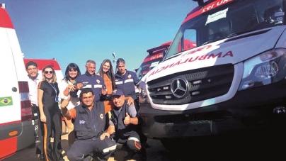 Samu-192 Guarulhos recebe quatro ambulâncias do Ministério da Saúde