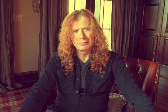 Dave Mustaine está com câncer e shows do Megadeth são cancelados
