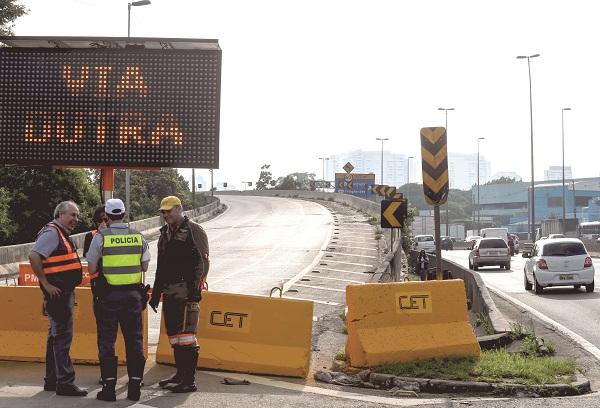 MPF em Guarulhos cobra da prefeitura de SP data para entrega de acesso da marginal para a Dutra