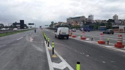 Acesso da via Dutra continua aberto após liberação da ponte da Marginal Tietê