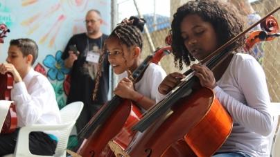 Projeto de urbanização da CDHU leva música, cor e desenvolvimento ao Pimentas
