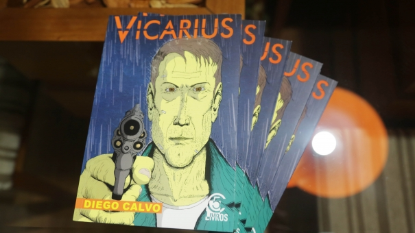 Diego Calvo lança livro Vicarius