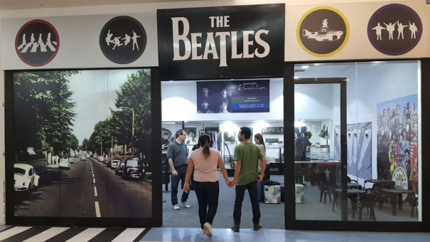 'The Beatles' é tema de exposição gratuita no Internacional Shopping