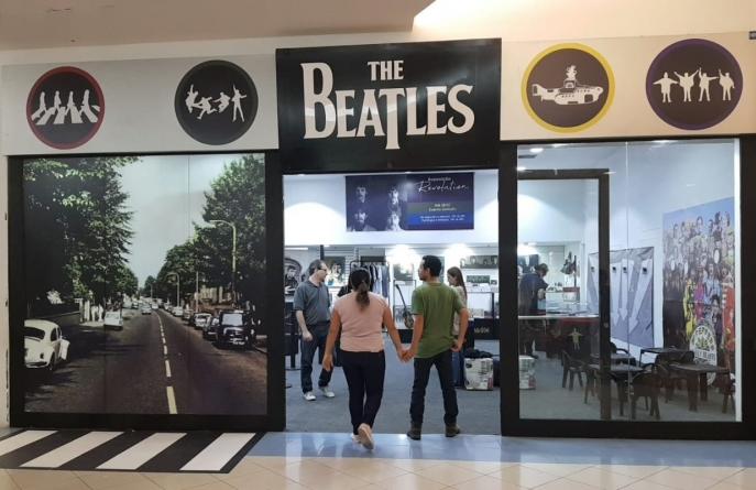 'The Beatles' é tema de exposição gratuita no Internacional Shopping