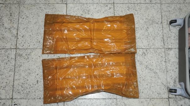 PF prende mulher com cocaína oculta no corpo